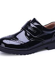 Недорогие -Мальчики Удобная обувь Синтетика Туфли на шнуровке Малыш (9м-4ys) / Маленькие дети (4-7 лет) / Большие дети (7 лет +) На липучках Черный Наступила зима