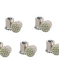 billiga -10pcs 1156 / 1157 Bilar Glödlampor 1 W SMD 3014 100 lm 22 LED Blinkers Till General Motors Universell