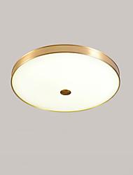 povoljno -QIHengZhaoMing Flush Svjetla Ambient Light Brass Metal 110-120V / 220-240V Meleg fehér