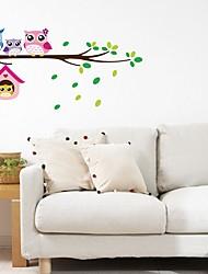 baratos -Autocolantes de Parede Decorativos - Autocolantes de Aviões para Parede / Etiquetas de parede de animal Paisagem Quarto / Quarto das Crianças