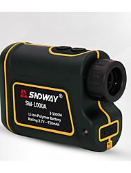 Недорогие -SNDWAY SW-1000A 3~1000M лазерные дальномеры для гольфа AirPlay / Держать в руке Для спорта / для наружного измерения