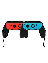 baratos -IPLAY HB-S004-1 Sem Fio Grip controlador Para Nintendo DS ,  Portátil / Criativo / Novo Design Grip controlador ABS 2 pcs unidade