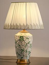 abordables -Moderne Décorative / Cool Lampe de Table Pour Chambre à coucher / Bureau / Bureau de maison Céramique 220V