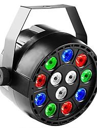 Недорогие -сценическое освещение led12 mini пластиковый светильник для вечеринок красящий светильник ktv club красящий светильник