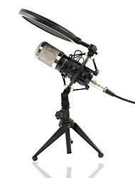 baratos -KEBTYVOR BM-800 PC / Com Fio Microfone Microfone Microfone Condensador Microfone Portátil Para Microfone de Computador