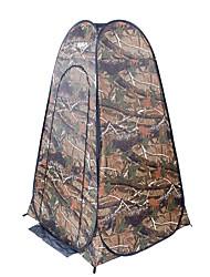Недорогие -TANXIANZHE® 1 человек Тент для пляжа На открытом воздухе С защитой от ветра, Дожденепроницаемый, Воздухопроницаемость Однослойный Автоматический Палатка 2000-3000 mm для