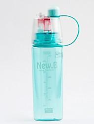 Недорогие -Drinkware Бутылка спорта Пластик Компактность На каждый день / Отдых и туризм