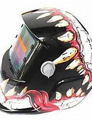 Недорогие -солнечная автоматическая фотоэлектрическая сварочная маска 107 зубов динозавра