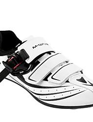 Недорогие -Взрослые Обувь для шоссейного велосипеда Нейлон, стекловолокно, воздушное отверстие,противоскользящие протекторы Водонепроницаемость Дышащий Амортизация Велосипедный спорт / Велоспорт Для велоспорта