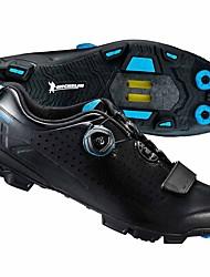 Недорогие -21Grams Обувь для велоспорта Ультралегкий (UL), Удобный Шоссейные велосипеды / Горный велосипед Черный / красный / Синий и черный