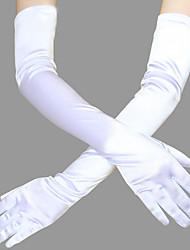 Недорогие -Великий Гэтсби 1920-е года Гетсби Костюм Жен. Перчатки Головные уборы Черный / Красный / Золотой Винтаж Косплей Стреч-сатин Без рукавов