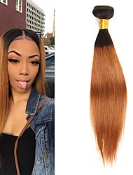 tanie -1 Pakiet Włosy brazylijskie Prosta Włosy naturalne remy Doczepy z naturalnych włosów 10-26 in Ludzkie włosy wyplata Miękka Najwyższa jakość Nowości Ludzkich włosów rozszerzeniach Damskie