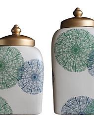 Недорогие -Полиэстер Овал Новый дизайн Главная организация, 2pcs Бутылки и емкости для хранения