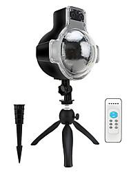baratos -levou projetor de queda de neve luzes ip65 à prova d 'água paisagem espumante luz de projeção para iluminação de decoração com controle remoto