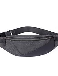 Недорогие -мужские сумки наппа кожаный ремень сумка молния черный