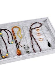 levne -Úložný prostor Organizace Sbírka šperků Česaná bavlna Čtvercový Zábavné