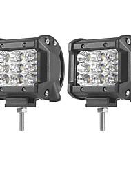 Недорогие -2pcs Автомобиль Лампы 27 W SMD 3030 5400 lm Светодиодная лампа Рабочее освещение Назначение