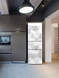 Недорогие -наклейки на холодильник - 3d наклейки на стеновые формы / абстрактная столовая / кухня