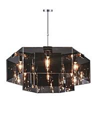 baratos -QINGMING® 6-luz Lustres Luz Descendente Acabamentos Pintados Metal Designers 110-120V / 220-240V Lâmpada Não Incluída / E12 / E14