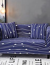 Недорогие -Современный Полиэстер Накидка на диван, Простота установки Цветочный принт С принтом Чехол с функцией перевода в режим сна