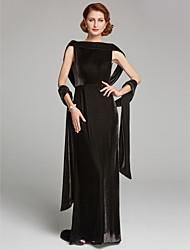 ราคาถูก -เสื้อไม่มีแขน กำมะหยี่ งานแต่งงาน / งานปาร์ตี้ / งานราตรี Women's Wrap กับ ไม่มีลาย ผ้าคลุมไหล่