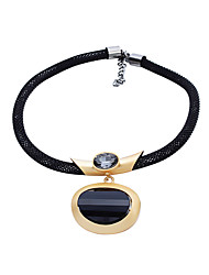 Недорогие -Жен. Мода ожерелья Однотонный