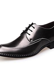 olcso -Férfi Formális cipők Mikroszálas Tavasz & Ősz Brit Félcipők Forgásc
