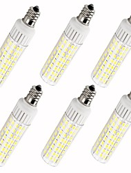 Недорогие -6шт 7.5 W 937 lm E12 LED лампы типа Корн T 100 Светодиодные бусины SMD 2835 Тёплый белый / Холодный белый 85-265 V