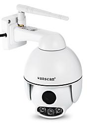 Недорогие -wanscam® hw0054 наружная двусторонняя аудиосистема h.264 водонепроницаемая 2-мегапиксельная купольная IP-камера