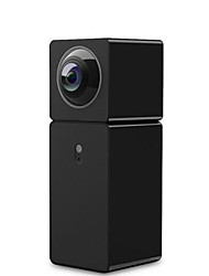 abordables -xiaomi® xiaofang panoramique smart camera ip caméra 2mp double objectif vue panoramique