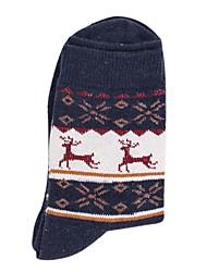 billige Undertøy og sokker til herrer-Herre Sokker - Geometrisk, Trykt mønster Normal