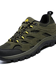 hesapli -Erkek Ayakkabı Örümcek Ağı / PU Kış Sportif Atletik Ayakkabılar Dağ Yürüyüşü Atletik için Koyu Gri / Ordu Yeşili / Haki