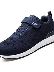cheap -Men's Comfort Shoes PU(Polyurethane) Spring Athletic Shoes Walking Shoes Black / Gray / Blue