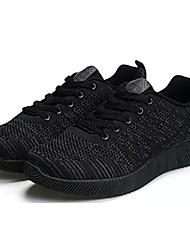 hesapli -Erkek Ayakkabı PU Kış Atletik Ayakkabılar Yürüyüş Dış mekan için Siyah / Koyu Mavi / Açık Gri