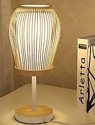 hesapli -Modern Çağdaş Dekorotif Masa Lambaları Yatakodası Uyumluluk 220-240V Ahşap / Bambu