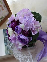 Недорогие -свадебные цветы искусственный цветок / уникальный свадебный декор выпускной / свадебные материалы по индивидуальному заказу 0-10 см