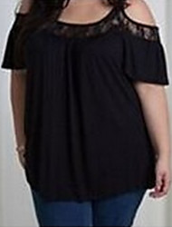 billige -Dame - Ensfarvet Gade T-shirt
