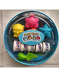 Недорогие -Пластилин Подземные работы - разработка длинными забоями Креатив Животные Градиент Милый Животный принт Пластиковые & Металл Детские Все Игрушки Подарок 1 pcs