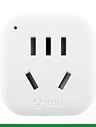 abordables -BULL 1pc Protection de l'enfance / US ABS + PC Adaptateur d'alimentation 2500 W