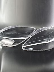 Недорогие -Factory OEM 2pcs Автомобиль Автомобильные световые чехлы прозрачный Новый дизайн для Головной свет Назначение Corvette 2005 / 2006 / 2007