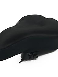 Недорогие -WOSAWE Чехол на седло / Подушка Очень широкий Комфорт Толстые силикагель Велоспорт Шоссейный велосипед Горный велосипед Черный
