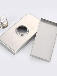 Недорогие -Слив Креатив / Автоматический Современный Нержавеющая сталь 1шт Установка на полу