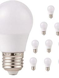 Недорогие -10 шт. 3W 350lm E26 / E27 Круглые LED лампы G45 6 Светодиодные бусины SMD 2835 Водонепроницаемый Декоративная Тёплый белый Холодный белый