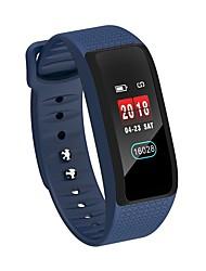 baratos -KUPENG B61 Pulseira inteligente Android iOS Bluetooth satélite Smart Esportivo Impermeável Podômetro Aviso de Chamada Monitor de Atividade Monitor de Sono Lembrete sedentária / Tela de toque