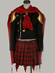 Недорогие -Вдохновлен Final Fantasy Косплей Аниме Косплэй костюмы Японский Косплей Костюмы Особый дизайн Пальто / Кофты / Юбки Назначение Муж. / Жен. / Накидка