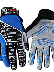 cheap -Full Finger Unisex Motorcycle Gloves Polyester Fabric Breathable / Keep Warm / Wearproof