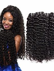 저렴한 -3 개 묶음 페루인 헤어 딥 웨이브 100 % 레미 헤어 위브 번들 번들 헤어 인모 연장 위브 10-26 인치 자연 색상 인간의 머리 되죠 털실 천연 새로운 인간의 머리카락 확장 여성용