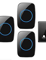 povoljno -Factory OEM Bez žice Jedan do tri vrata Glazba / Ding Dong Non-visual doorbell