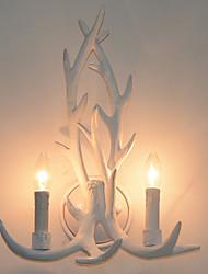 Недорогие -Творчество Ретро Настенные светильники кафе Металл настенный светильник 220-240Вольт 40 W