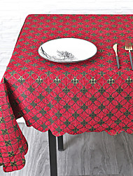 cheap -Contemporary Acetate Square Table Linens Patterned Eco-friendly Heat Resistant Table Decorations